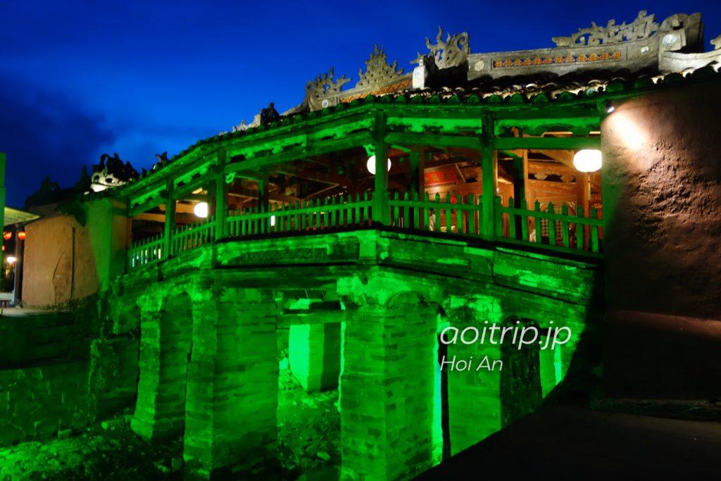 ホイアン日本橋 夜のライトアップ