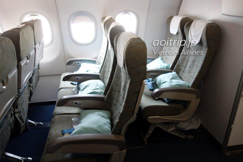 ベトナム航空 エコノミークラス 座席