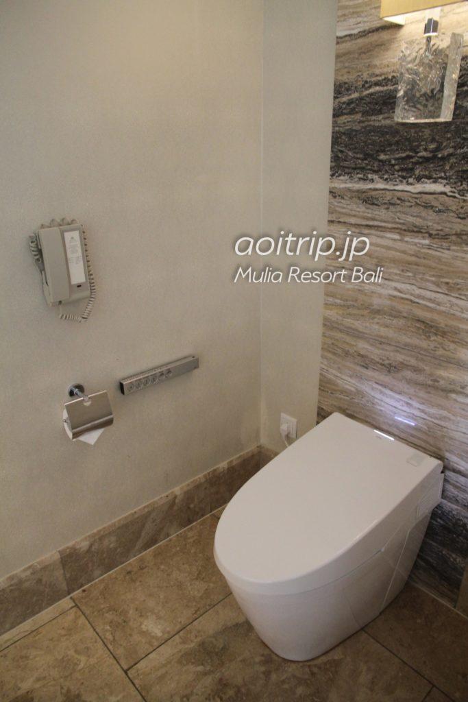 ムリア ウォシュレット付きトイレ