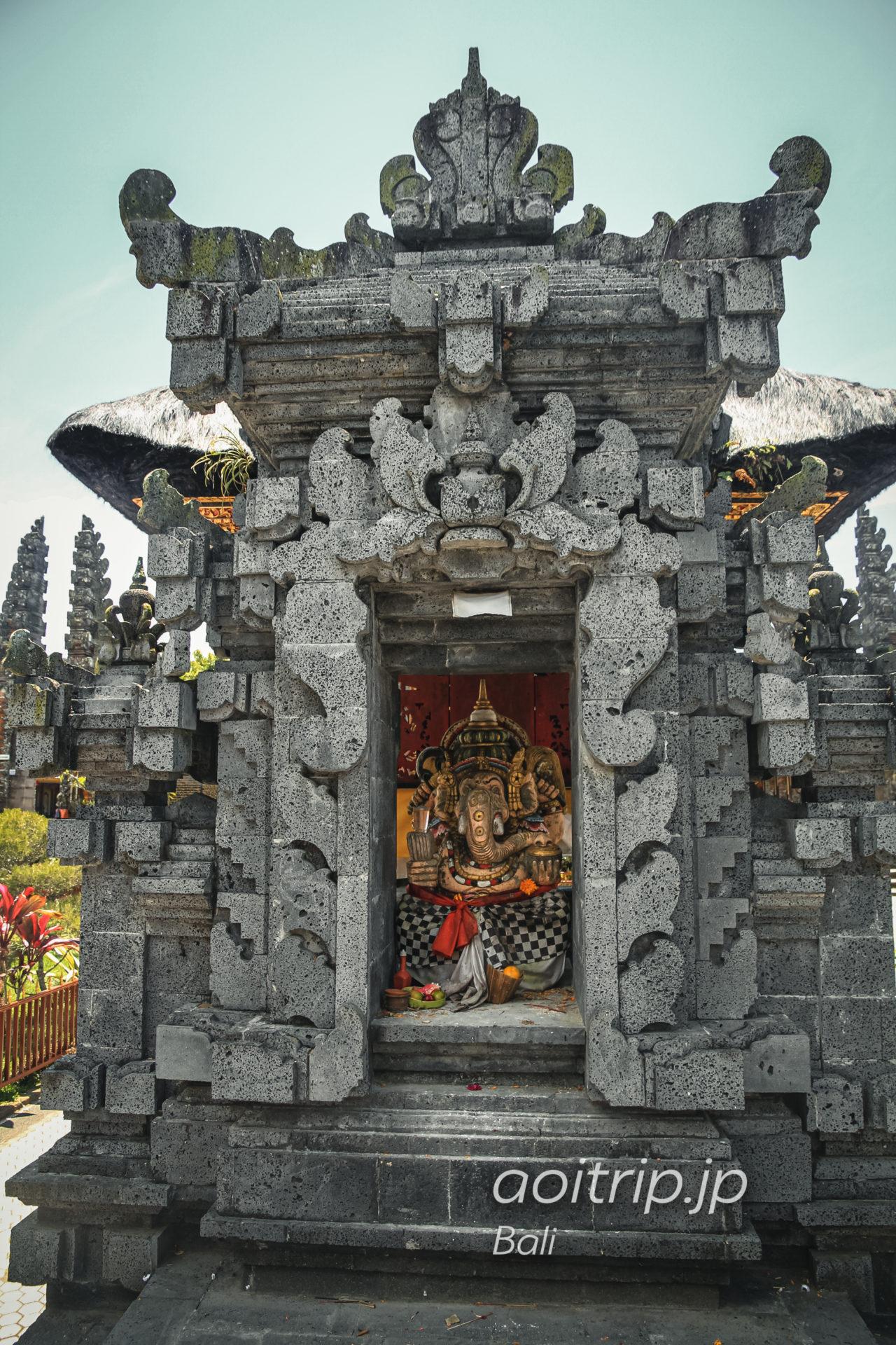 ウルンダヌバトゥール寺院 ガネーシャ