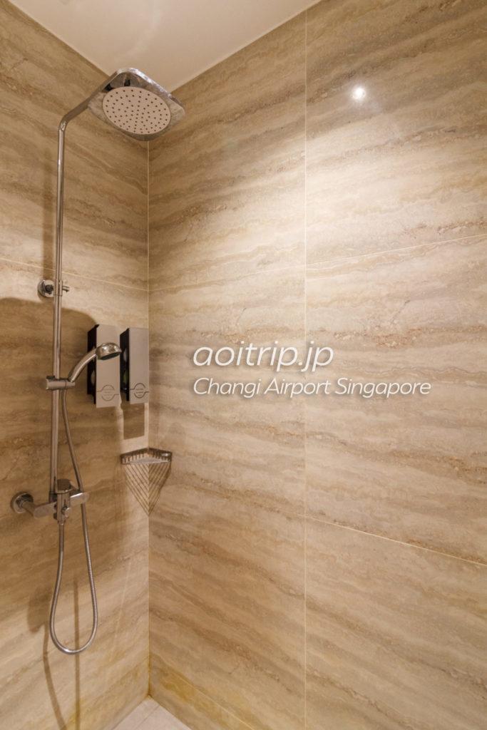 アンバサダートランジットラウンジのシャワールーム