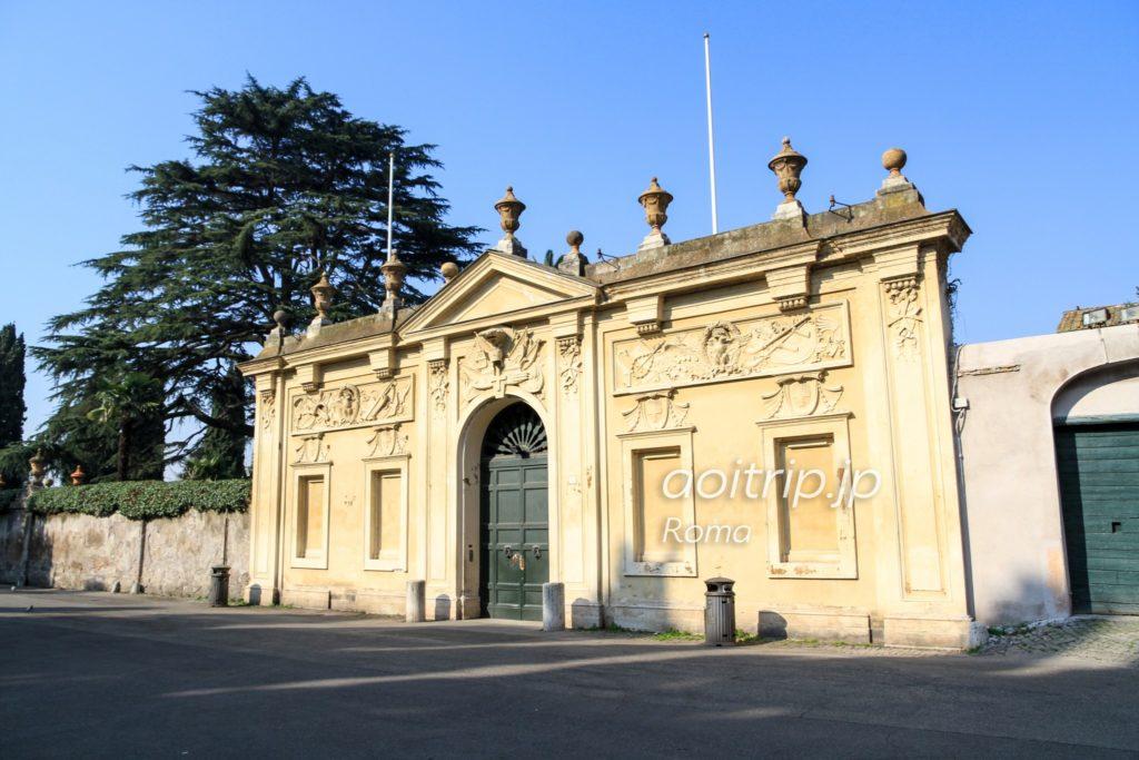 ローマ マルタ騎士団の館