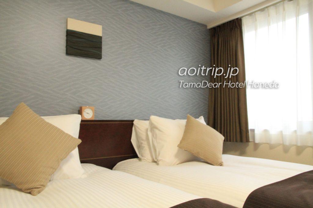 タマディアホテル ベッド
