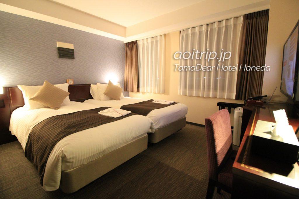 タマディアホテル羽田 ベッドルーム