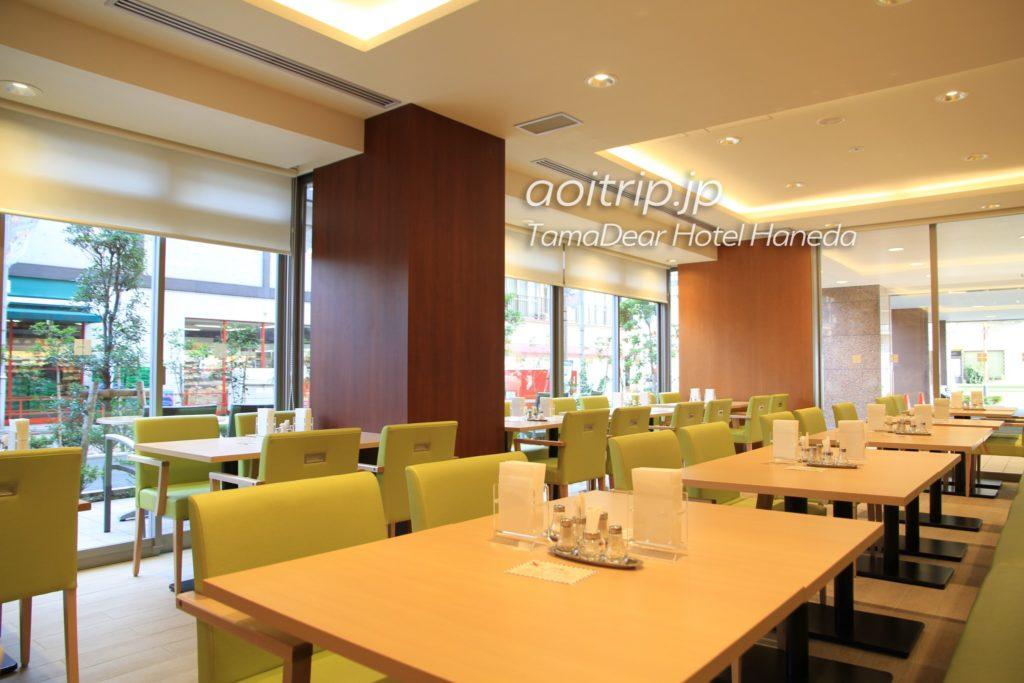 タマディアホテル羽田の朝食会場