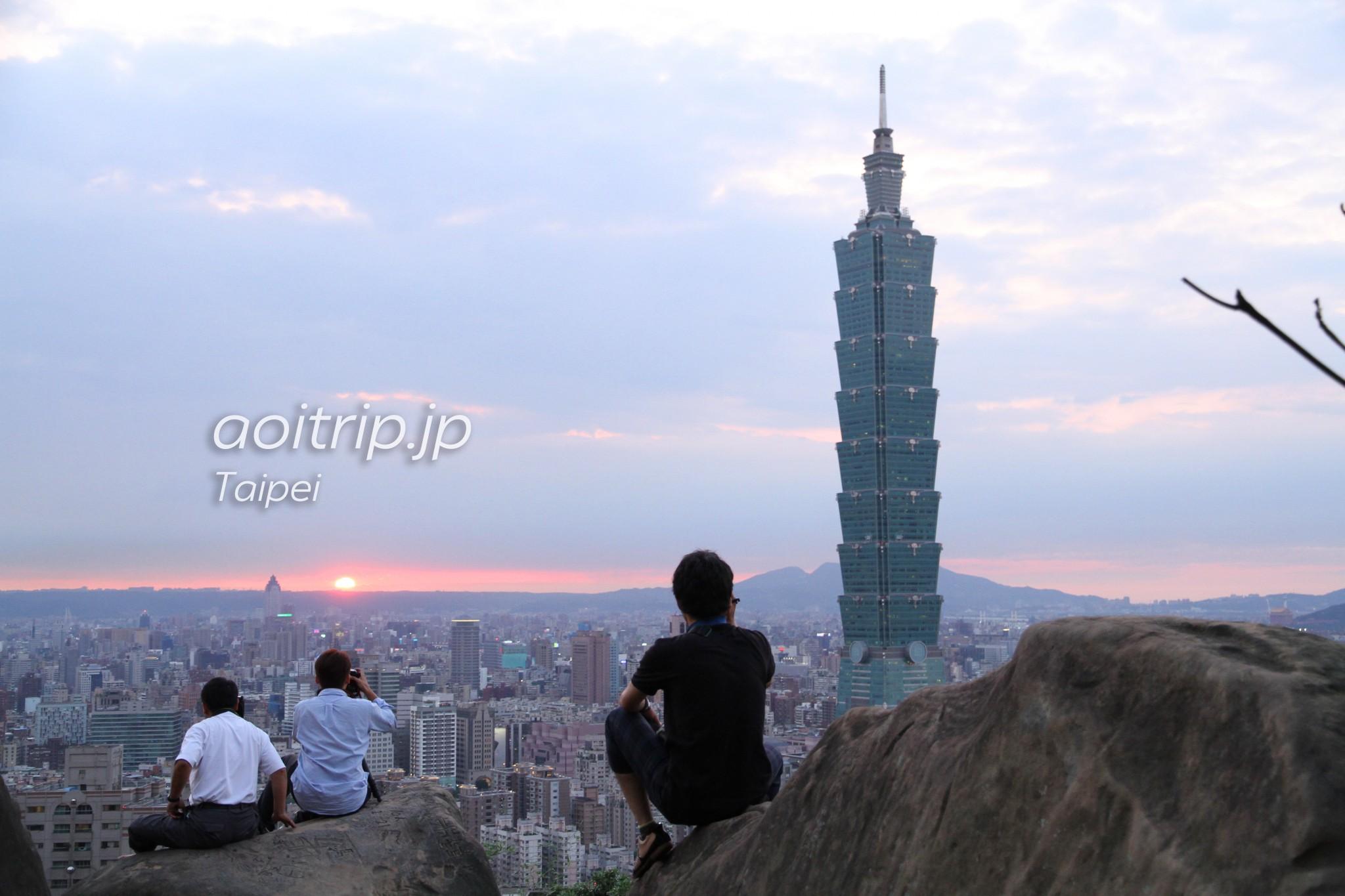 象山山頂からの夜景