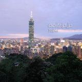 台北の象山から望む夜景