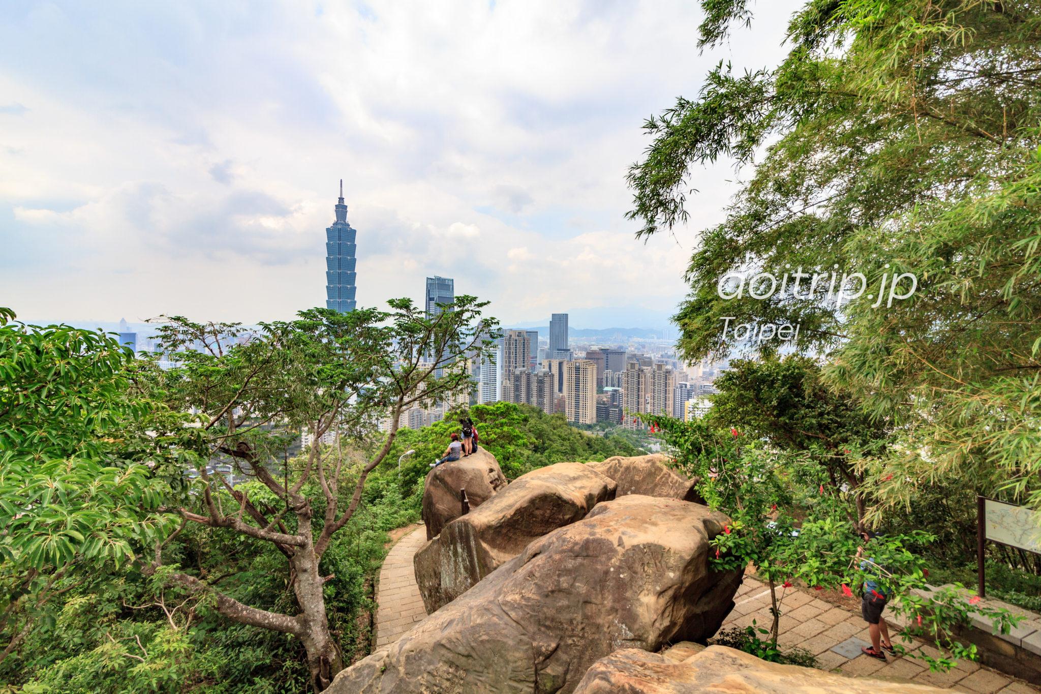 台北の象山 六巨石