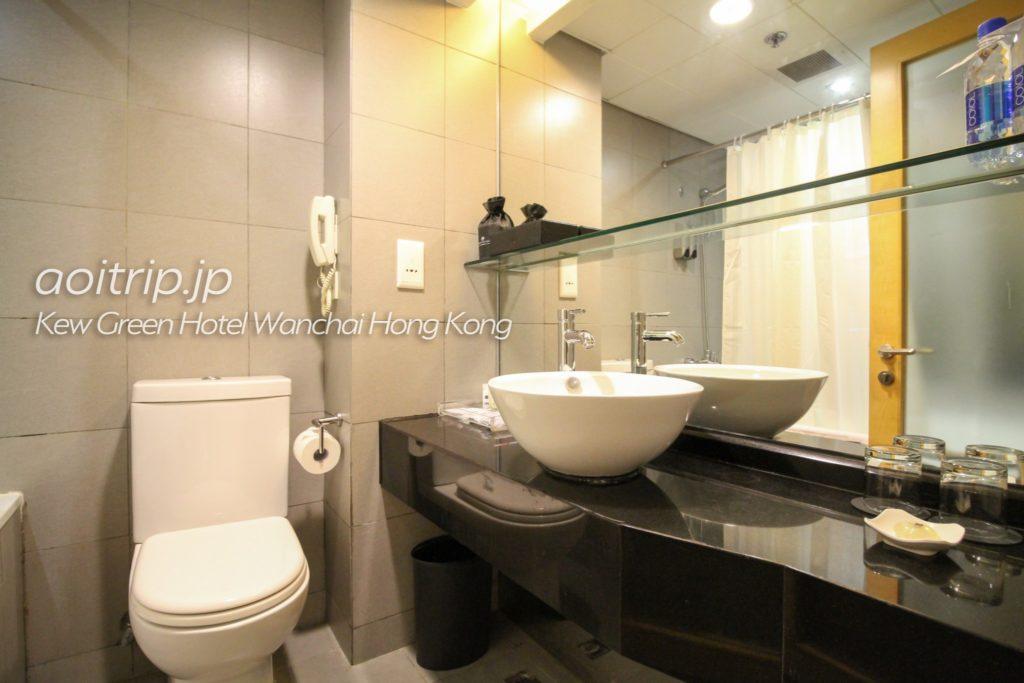 キューグリーンホテル湾仔香港 バスルーム