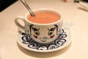 翠華餐廳のミルクティー