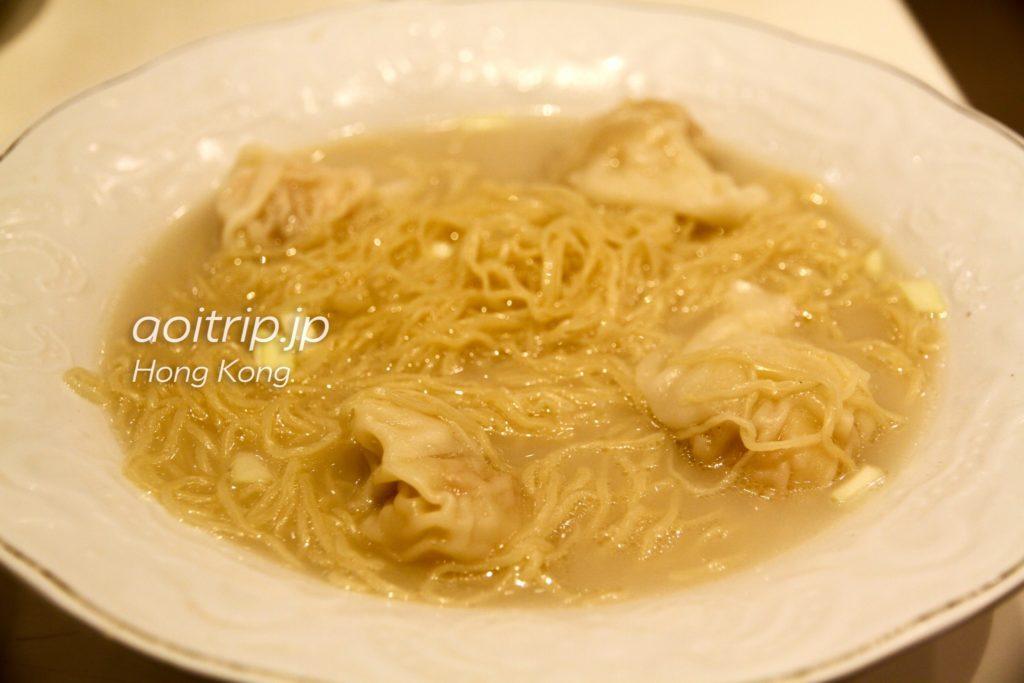 海老の卵入り煮込みワンタン麺