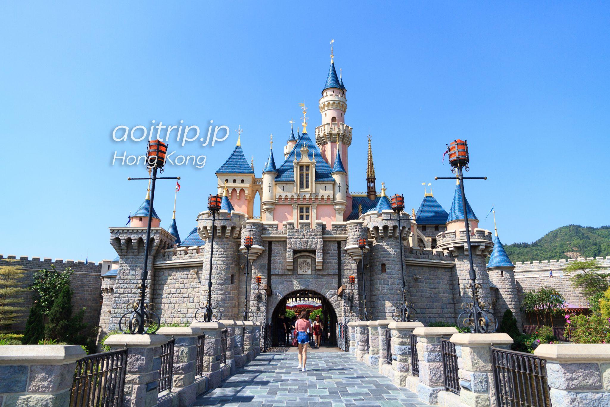 香港ディズニーランド 眠れる森の美女のお城
