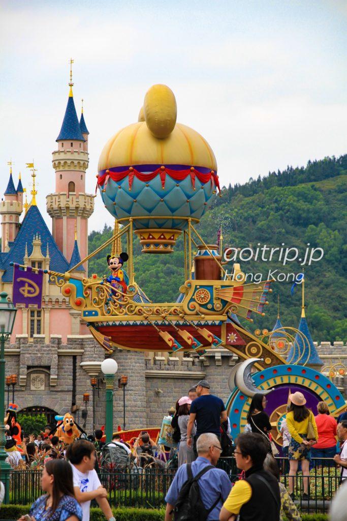 香港ディズニーランド パレード