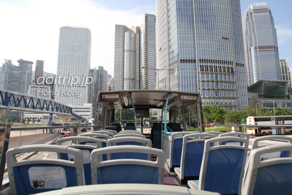 香港人力車観光バスの2F