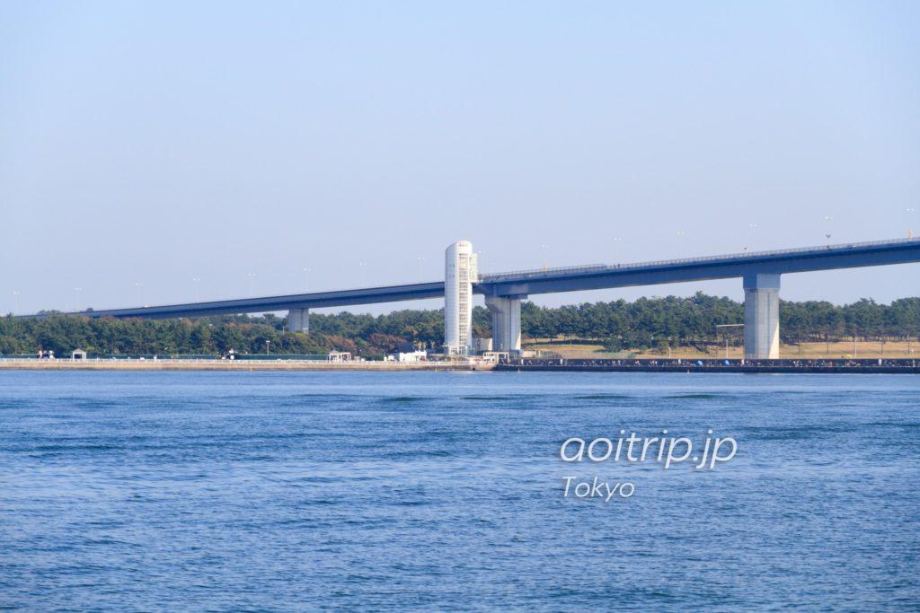 若洲海浜公園の昇降タワー
