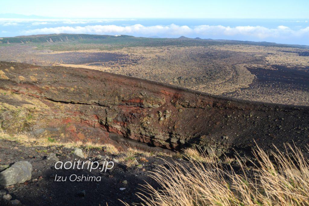 三原山 割れ目噴火