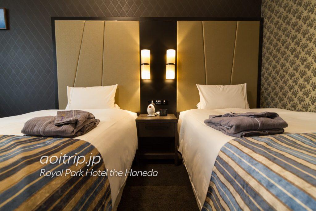 ザロイヤルパークホテル東京羽田 ベッド