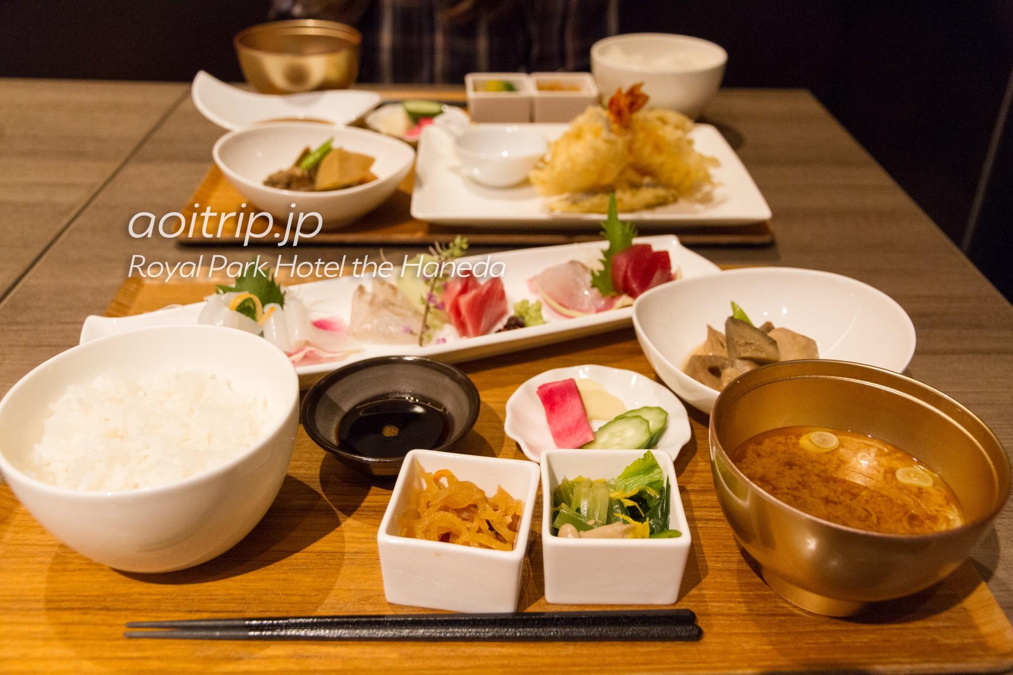 ザ ロイヤルパークホテル東京羽田 レストラン テイルウインド
