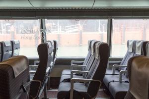 ターボジェット エコノミークラスの座席