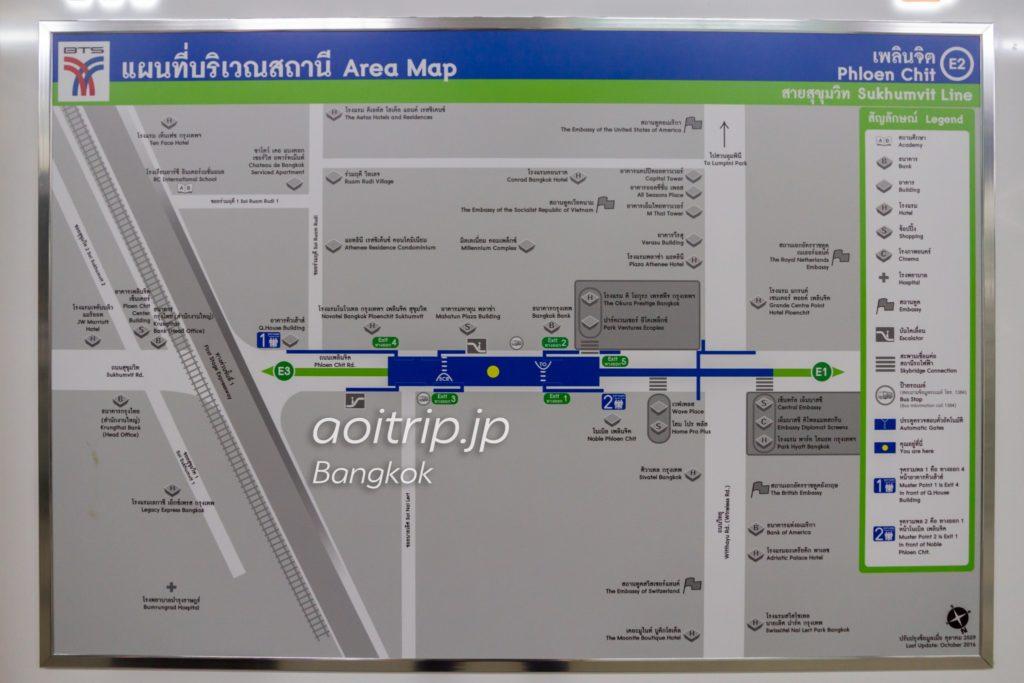 プルンチット駅周辺のマップ(※クリックで拡大します)
