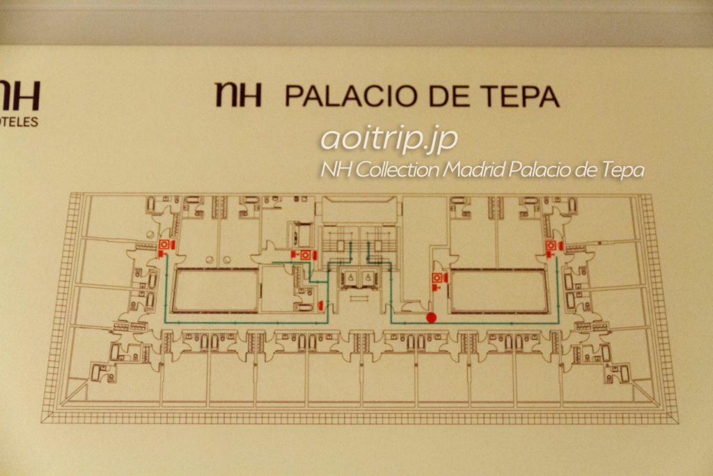 NHコレクションパラシオデテパ マップ