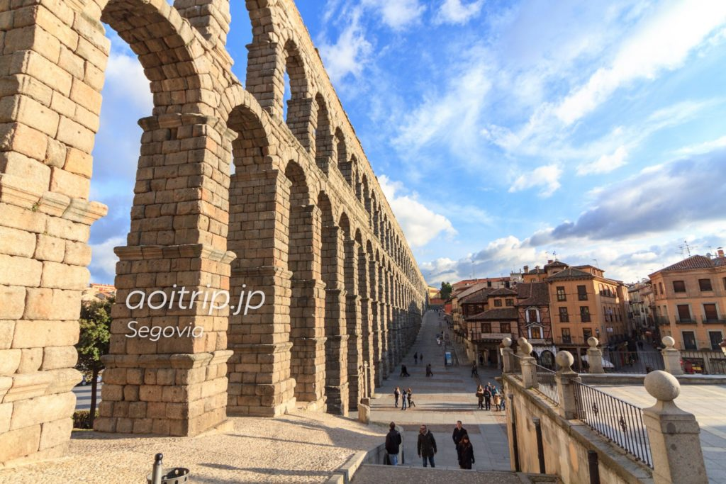 セゴビアのローマ水道橋