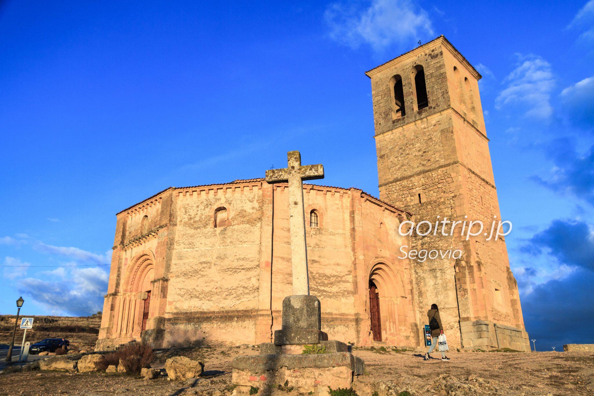 セゴビア ラベラクルス教会