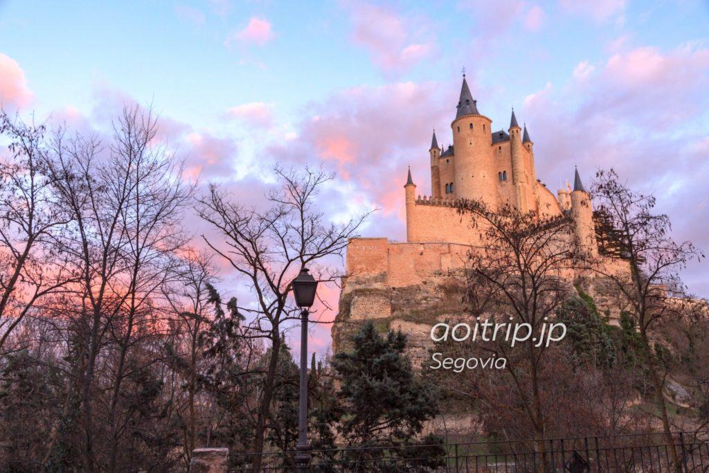 セゴビア旧市街と水道橋の画像 p1_35