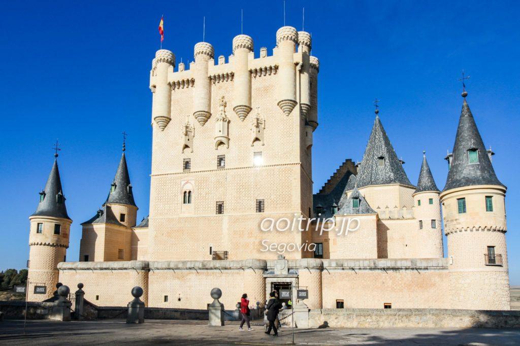 セゴビアのアルカサル フアン2世の塔