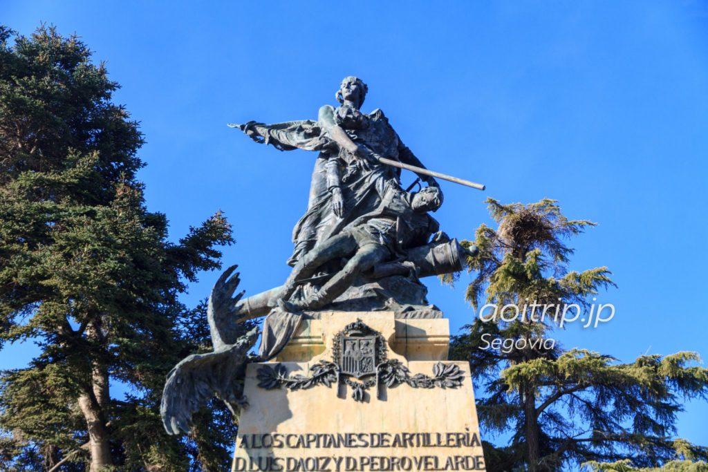 セゴビアアルカサル ダオイースとベラルデの像