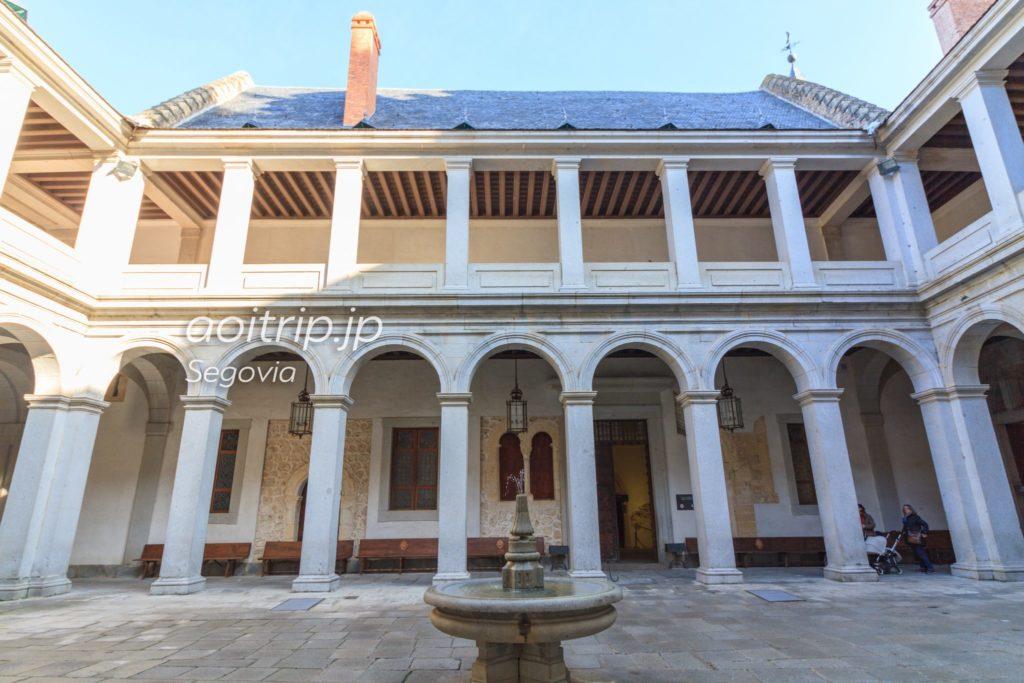 Parade courtyard Segovia