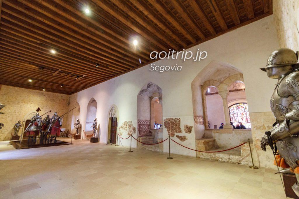 セゴビアのアルカサル 旧王宮の間