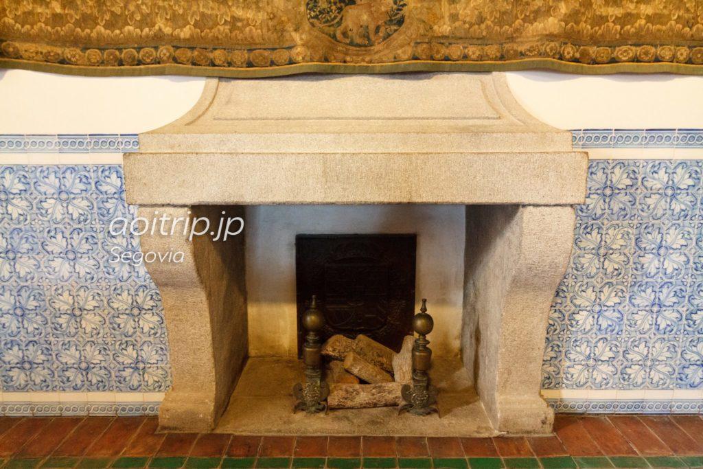 セゴビアのアルカサル 暖炉