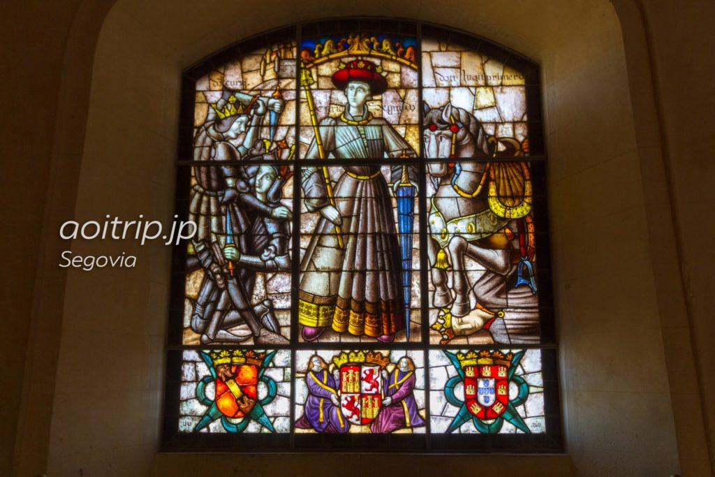 エンリケ2世のステンドグラス