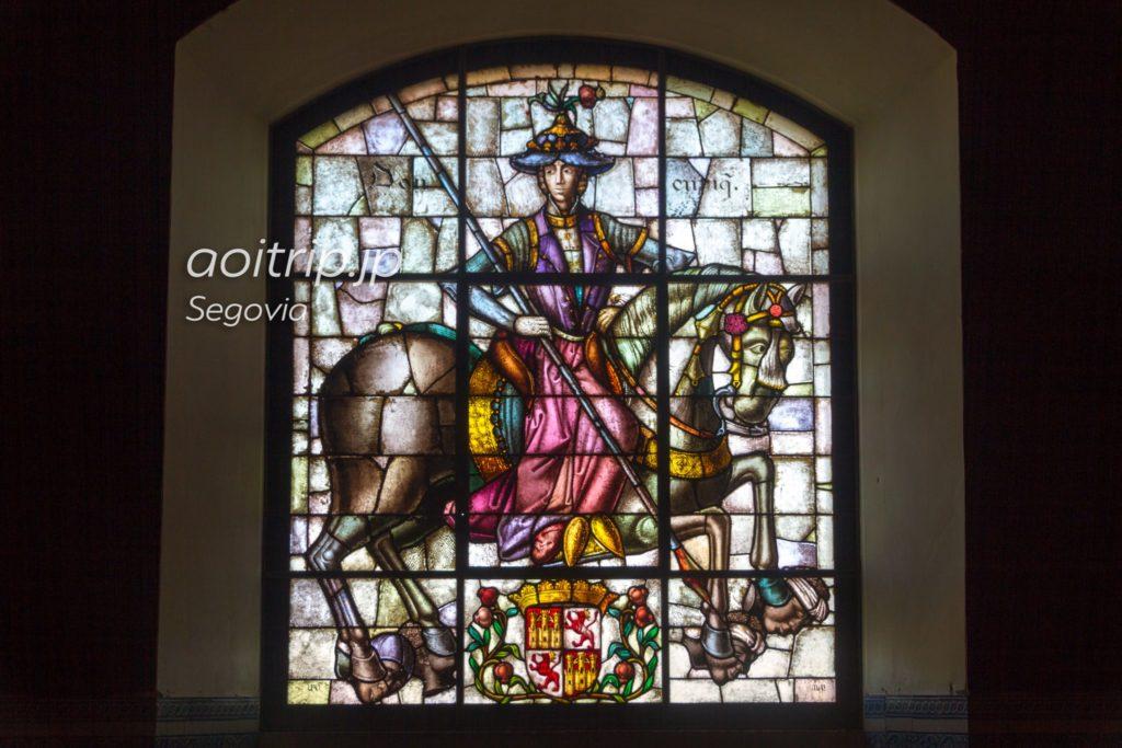 エンリケ4世のステンドグラス