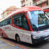 Avanza社のバス(セゴビア→アビラ)