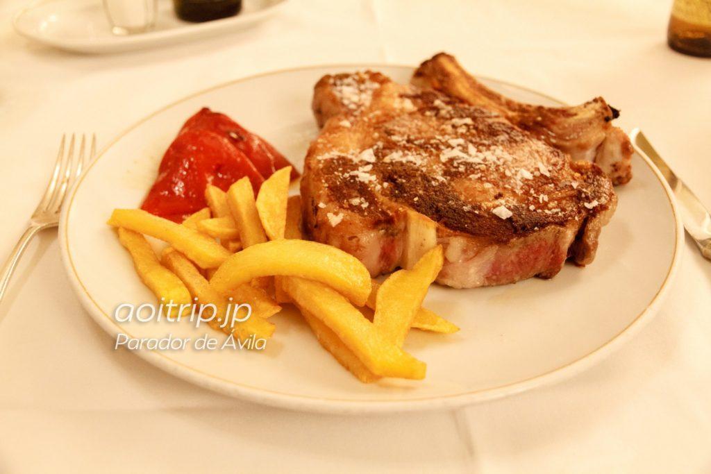 パラドールデアビラ レストラン アビラ牛