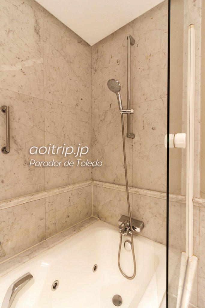 パラドールデトレド シャワー