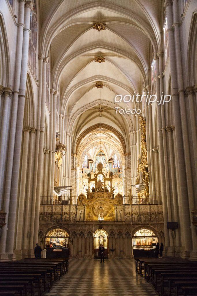 トレド大聖堂 身廊