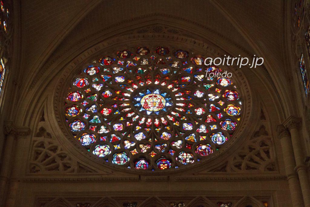 トレド大聖堂 バラ窓