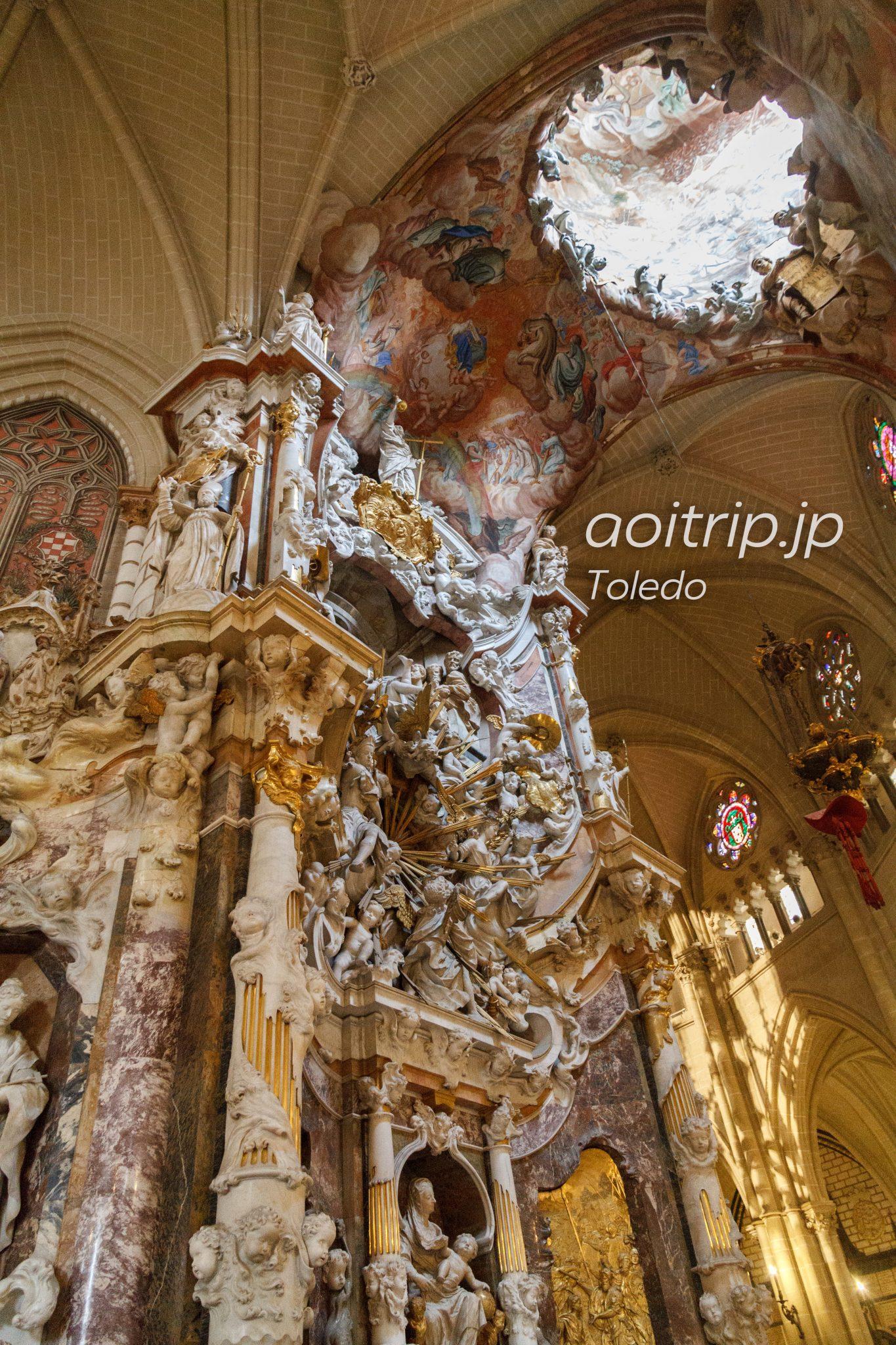 トレド大聖堂 トラスパレンテ