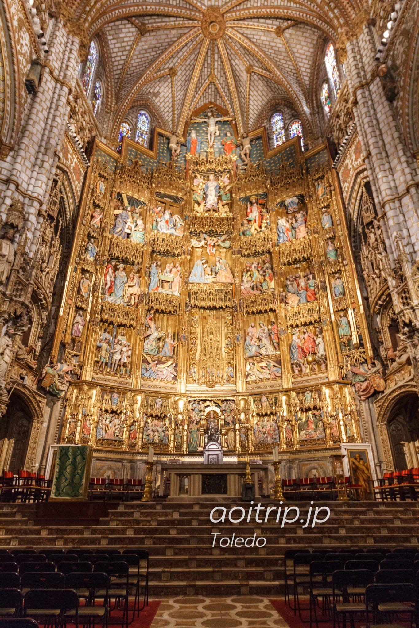 トレド大聖堂 ゴシック様式の祭壇画