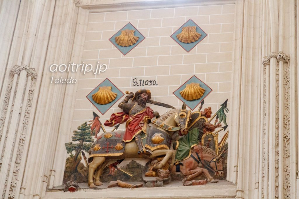 トレド大聖堂 聖ヤコブ