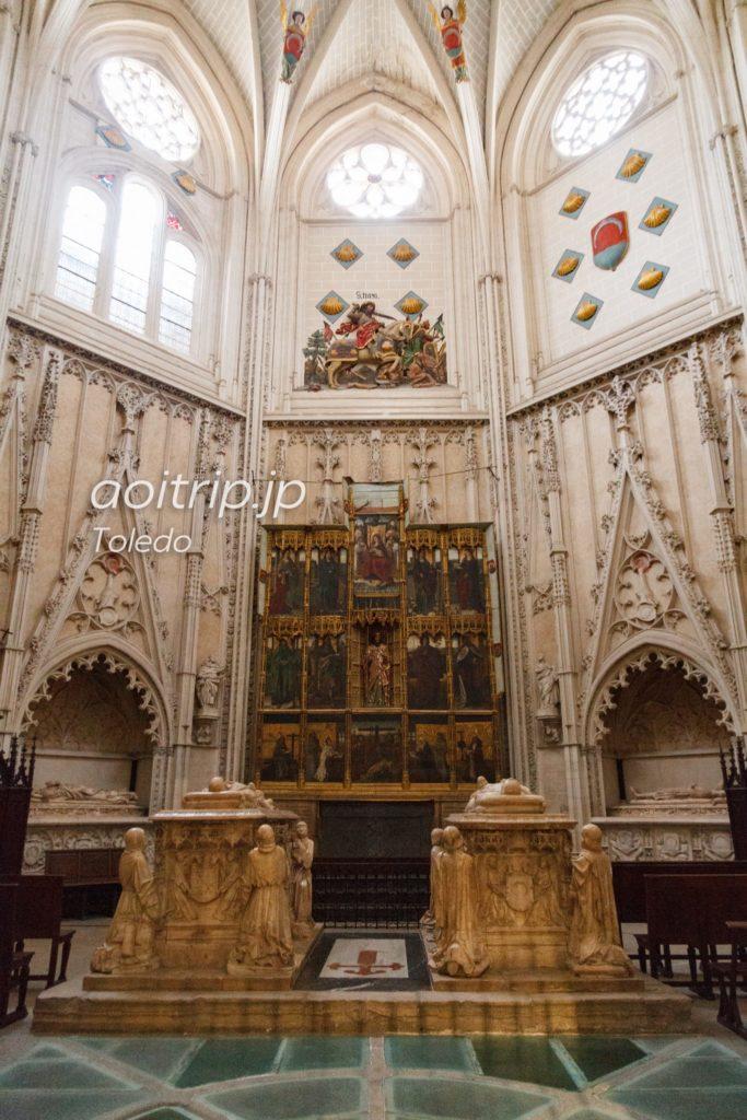 トレド大聖堂 サンティアゴ礼拝堂