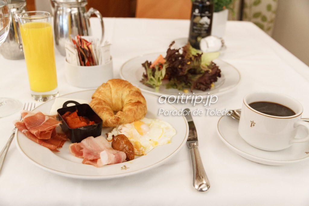 パラドールデトレド 朝食
