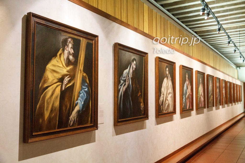 トレド美術館 十二使徒の絵画