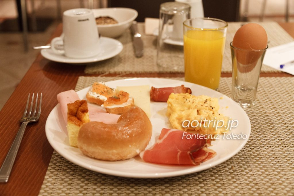 フォンテクルストレドの朝食