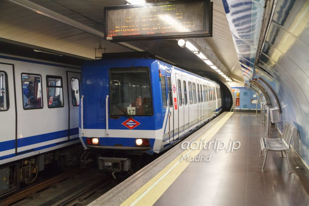 マドリッド地下鉄
