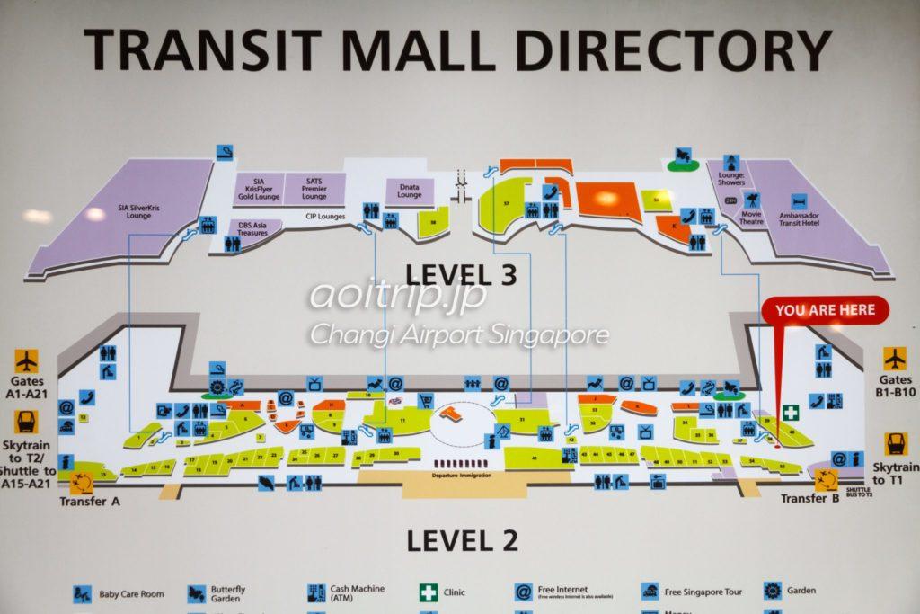 アンバサダートランジットホテル マップ