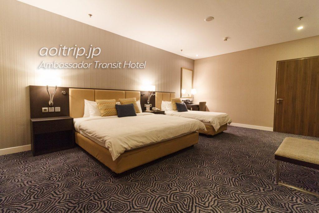 アンバサダートランジットホテルシンガポール トリプルルーム